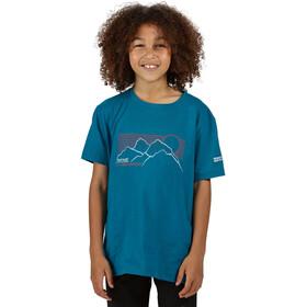 Regatta Bosley III T-Shirt Kinderen, gulfstream